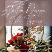 Custom Cake Toppers by Thistle and Lace Designs Inc