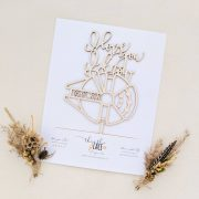 I love you I know cake topper by Thistle and Lace Designs Inc