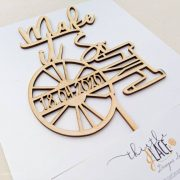Make it so Wedding cake topper by Thistle and Lace Designs Inc