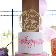 You are so loved cake topper by Thistle and Lace Designs Inc