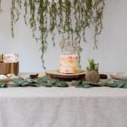 Young Wild and Three Woodland Birthday Cake Topper by Thistle and Lace