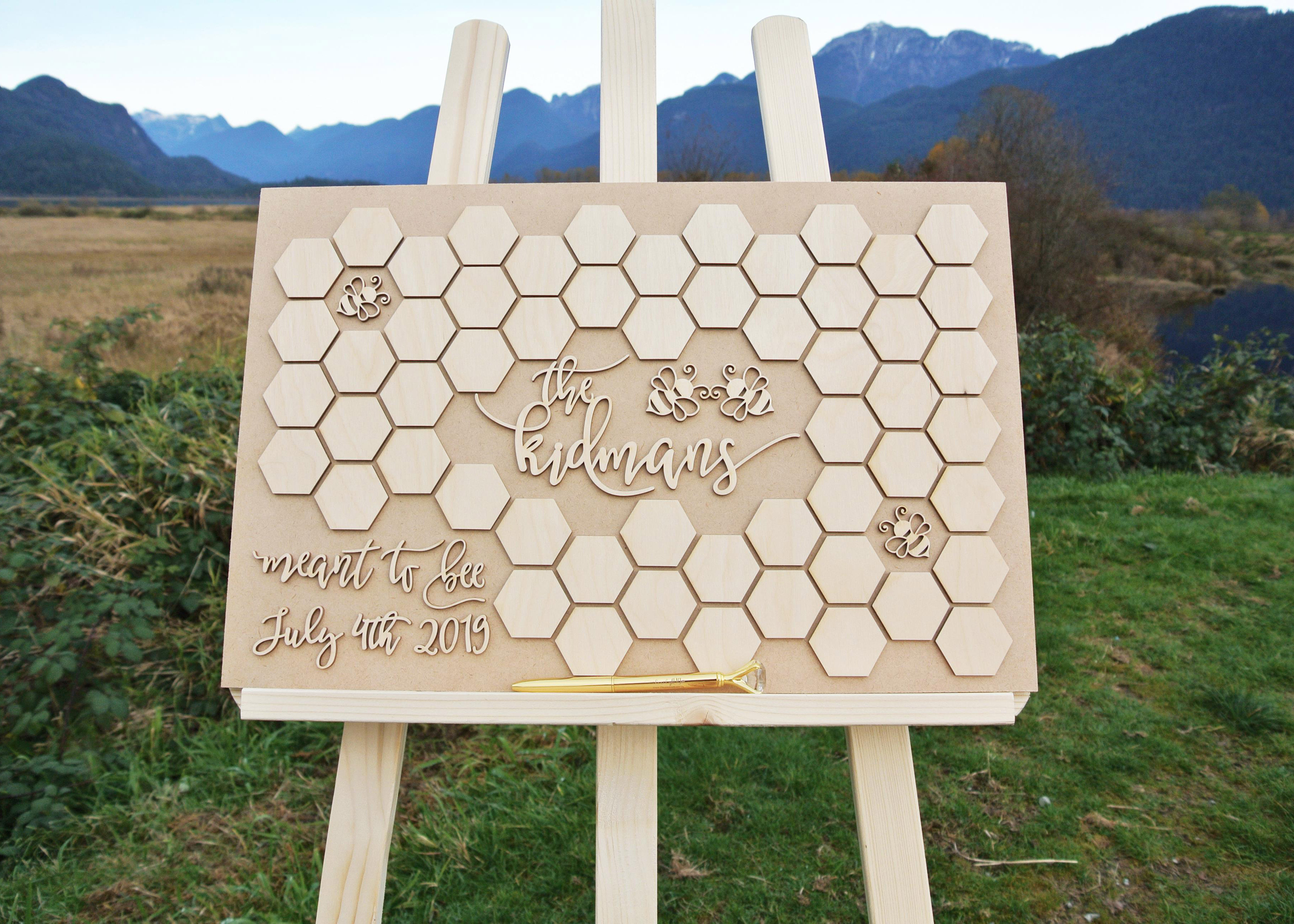 Bee-Themed-Alternative-Guestbook