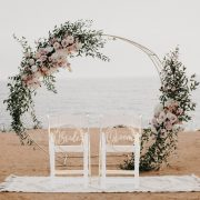 Bride and Groom Rustic Wedding Chair Signs
