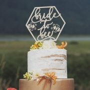 Bride to Bee Bridal Shower Cake Topper