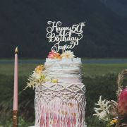 Custom Birthday Cake Topper