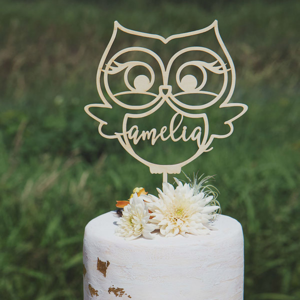 Astonishing Owl Birthday Cake Topper Make It The Best First Birthday Party Ever Personalised Birthday Cards Sponlily Jamesorg