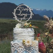 It was always you Wedding cake topper