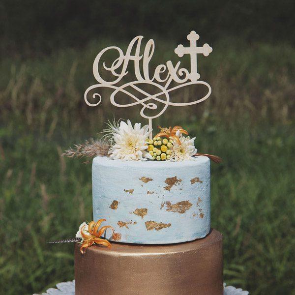 Custom Name Cake Topper
