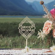 Sweet Treats Art Deco Wedding Sign