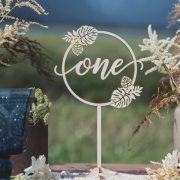 Beach Wedding Table Numbers by Thistle