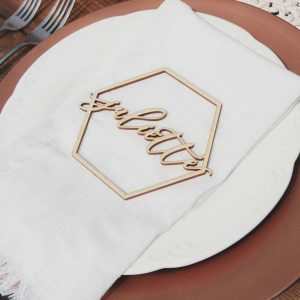 Elegant Place Names and Wedding Decor by Thistle and Lace