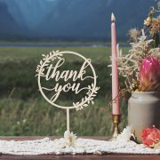 Thank you Rustic Table Sign