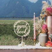Rustic Guest Book Table Sign