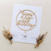 50th birthday cake toppers by Thistle and Lace Designs Inc