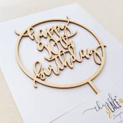 90th birthday cake toppers by Thistle and Lace Designs Inc