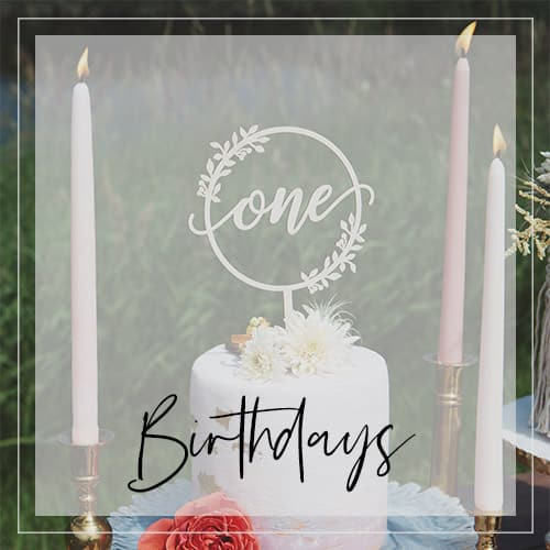 Custom Birthday Cake Toppers