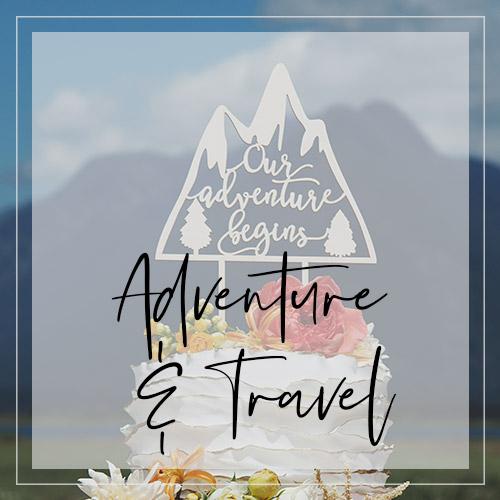 Adventure & Travel Themed Weddings