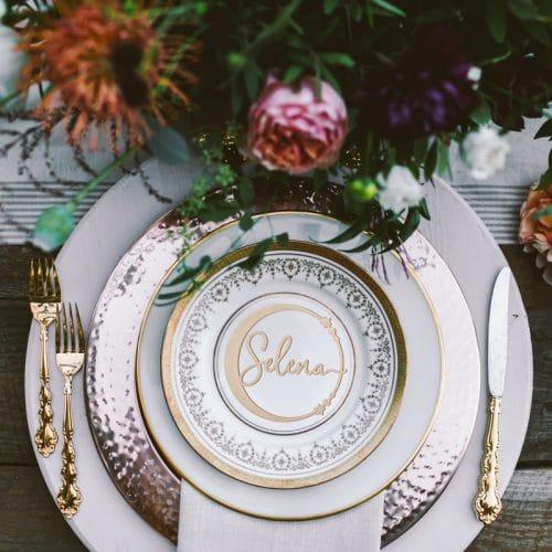 Celestial Wedding Seat Names