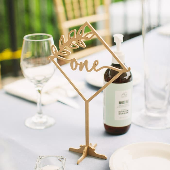 Rustic Diamond Table Numbers by Thistle and Lace Designs Inc