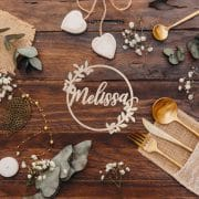 Rustic Seat Names by Thistle and Lace Designs