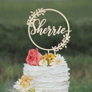 Custom Mothers Day Cake Topper by Thistle and Lace Designs Inc