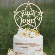 Custom Cowboy Birthday Cake Topper by Thistle and Lace Designs Inc.