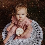 Celestial Baby Milestone Cards by Thistle and Lace Designs Inc