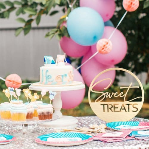 Sweet Treats Modern Wedding Sign